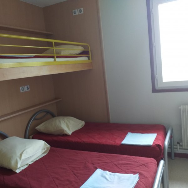 Chambre de 3 lits